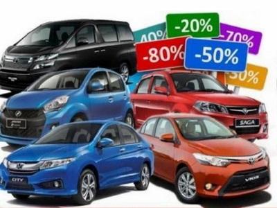 Harga Kereta Sewa Puchong Serendah RM60 Sehari